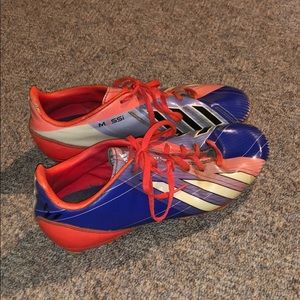 Preowned Messi cleats women's size 5